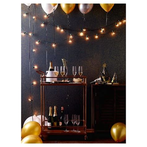 room string lights 25ct clear globe lights room essentials target
