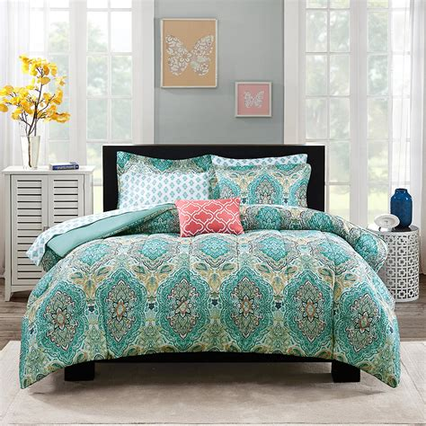 paisley bed sets paisley coordinated bedding set everything turquoise