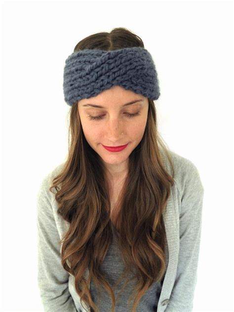 how to make a headband with a knitting loom hide untamed hair with knit headband patterns
