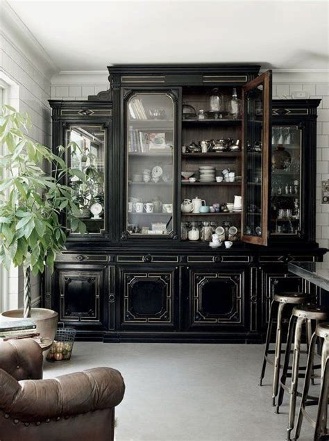 kitchen black cabinets top 25 best black rooms ideas on black