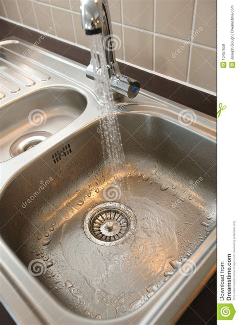 no water in kitchen sink kitchen sink with running water royalty free stock images