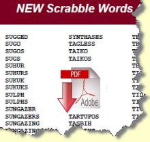 ve scrabble word word newsletter members pages