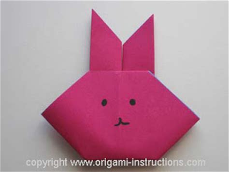 easy origami easter bunny origami origami basket bunny and