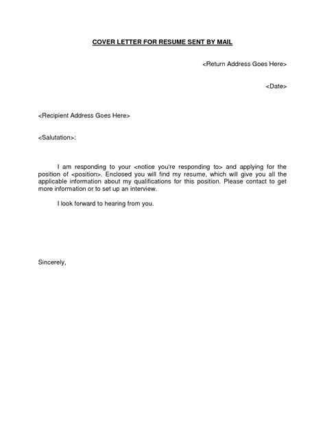cover letter design sample cover letter to send documents