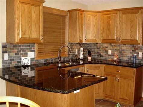 kitchen colors with oak cabinets and black countertops best 25 honey oak cabinets ideas on honey oak