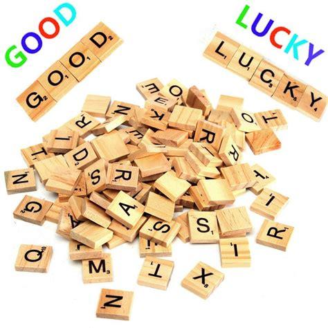 is iq a scrabble word 100pcs wooden scrabble letters scrapbooking