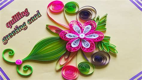 how to make a beautiful greeting card paper quilling designs on cards how to make a