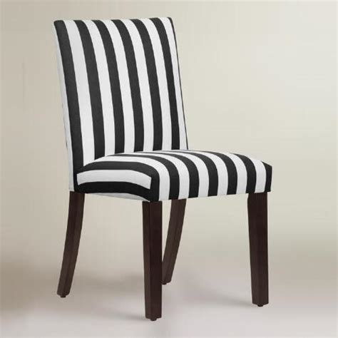 and black dining chairs black and white stripe dining chair