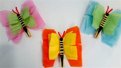 easy paper crafts for children easy tissue paper crafts for find craft ideas