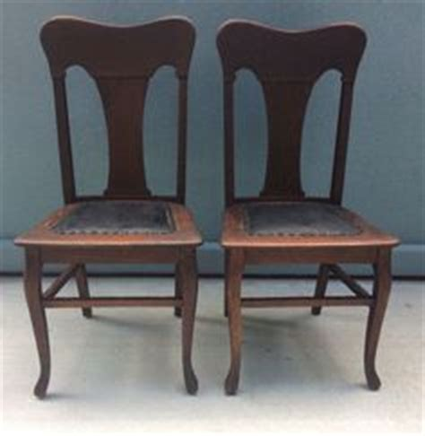 tiger oak dining chairs antique quarter sawn t back tiger oak dining chairs set
