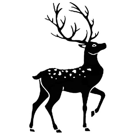 deer rubber st stag silhouette www pixshark images galleries with