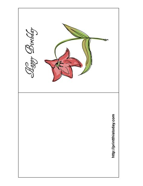 make my own greeting cards free printable how to create your own free printable birthday cards for