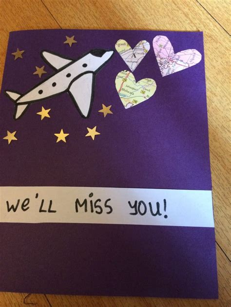 how to make a farewell card 17 best images about farewell cards on