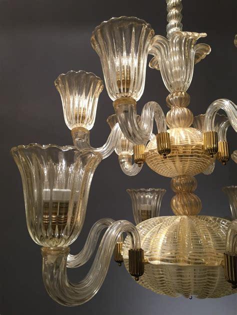 glass e barovier e toso glass chandelier lighting stock