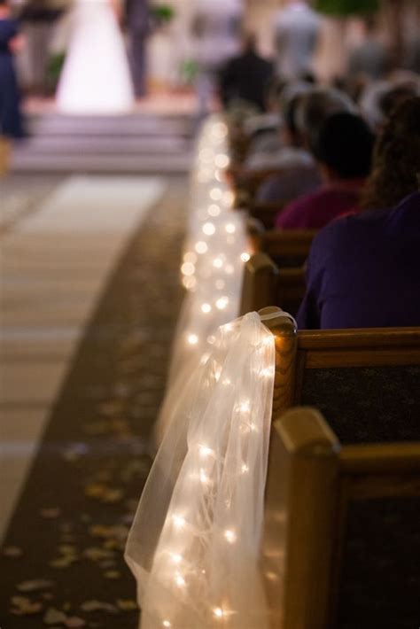 lights for decorating wedding best 20 wedding church aisle ideas on church