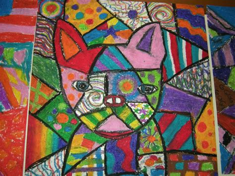picasso paintings of dogs mrs s polka dot spot picasso dogs
