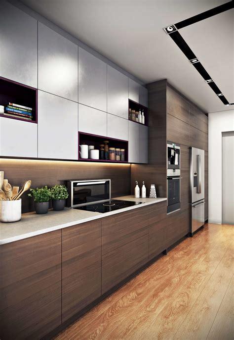 interior designs for home kitchen interior 3d rendering for a modern design archicgi