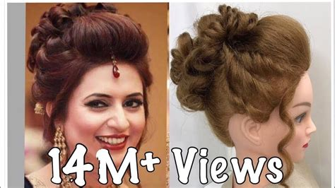 hair styles 3 beautiful hairstyles with puff easy wedding hairstyles