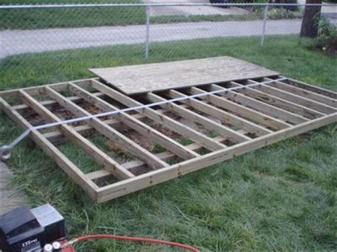 how to build a floor for a house how to build a shed floor and shed foundation