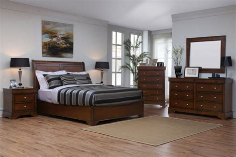 kingston bedroom furniture kingston walnut bedroom set by lifestyle solutions