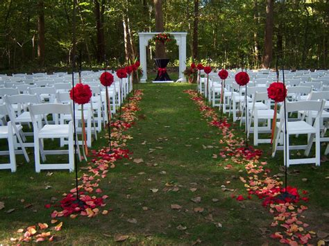 outside garden ideas outdoor wedding romanceishope
