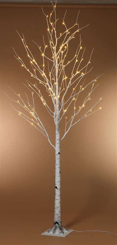 light up trees for weddings 8 foot led lighted birch tree warm white
