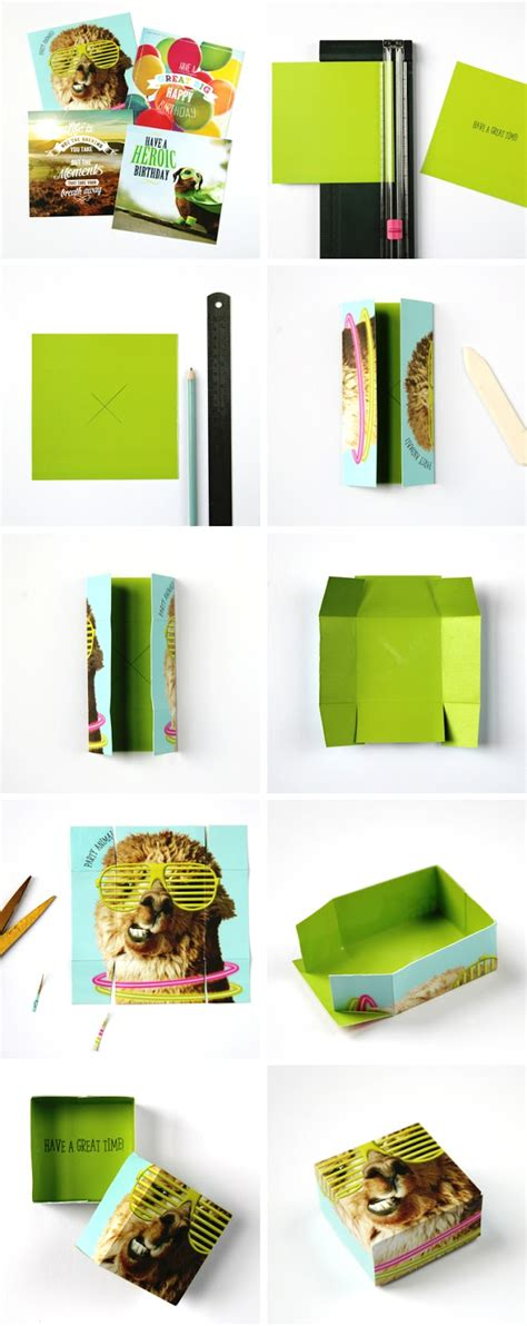 how to make q cards how to make a gift box from an card gathering