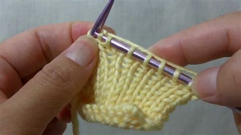 how to knit in front and back how to knit kfbf knit front back and front