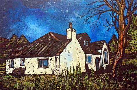 spray painting scotland commission original paintings artwork mural spray paint