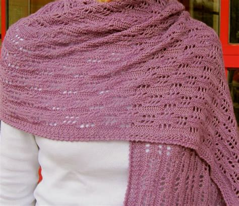 easy knit lace shawl pattern easy eyelet lace shawl knitting pattern by