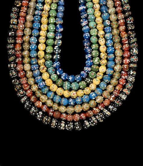 glass bead author middle eastern and venetin glass augusto panini