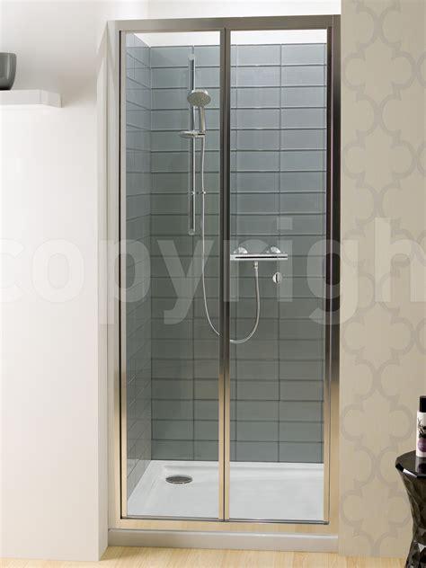 simpsons shower doors simpsons edge 1000mm bifold shower door