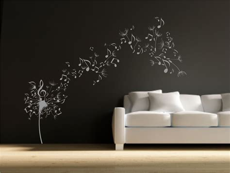 dandelion clock seeds note wall decal sticker