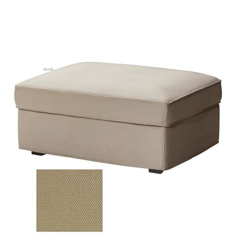 ikea ottoman cover ikea kivik footstool slipcover ottoman cover dansbo beige