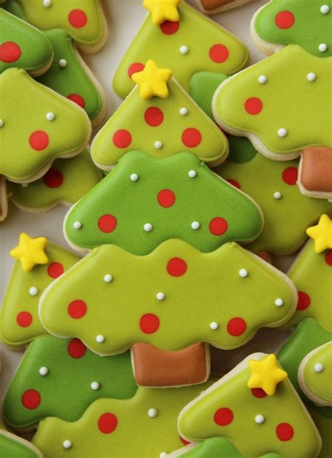 tree with cookies 17 best ideas about decorated cookies on