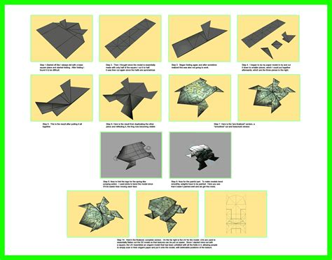 3d origami frog process of a 3d origami frog by mastaazumarek on deviantart