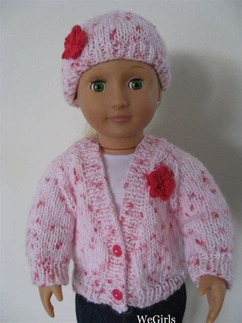 doll cardigan knitting pattern knitting pattern 18 inch american doll v neck