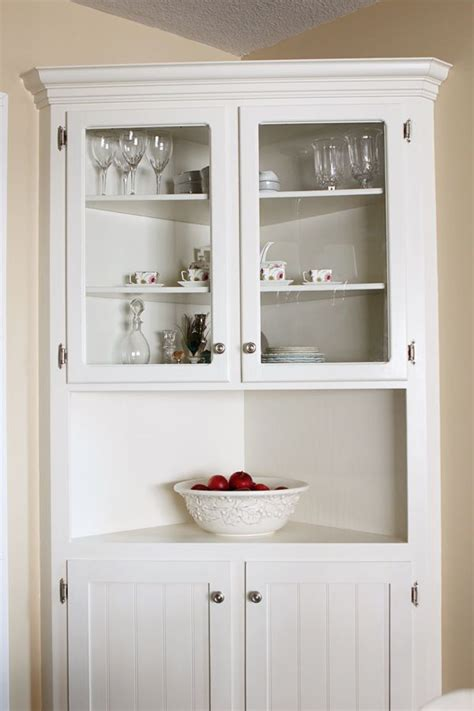 corner cabinet dining room 25 best ideas about corner hutch on white