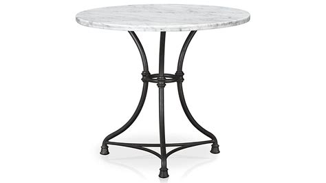 kitchen cafe table kitchen bistro table crate and barrel