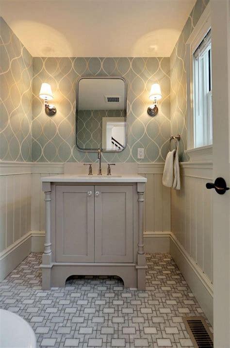 wallpaper bathroom designs minimalist grey geometric bathroom wallpaper ideas home inspiring