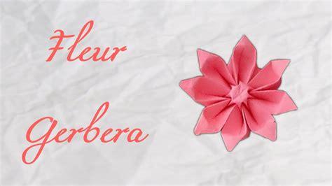 origami gerbera origami fleur gerbera flower hd