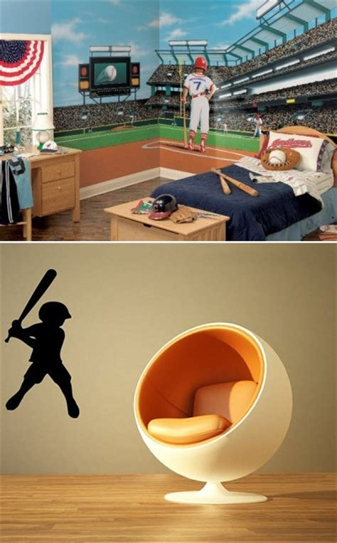 sports murals for bedrooms wall mural inspiration ideas for boys rooms