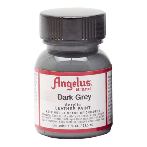 angelus paint grey buy angelus leather paint 1 oz grey
