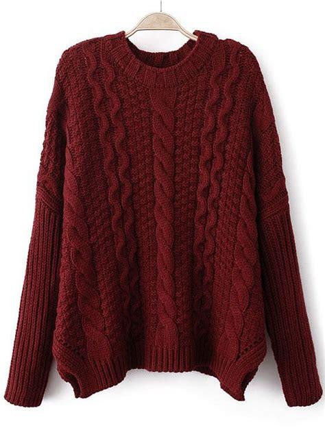 knitted sweaters slouchy cropped cable knit sweater fa fa fa fa fashion