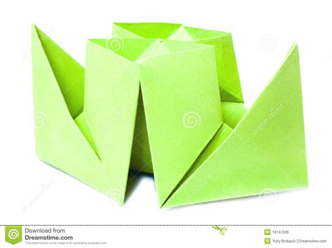 origami figure origami figure of boat royalty free stock photo image