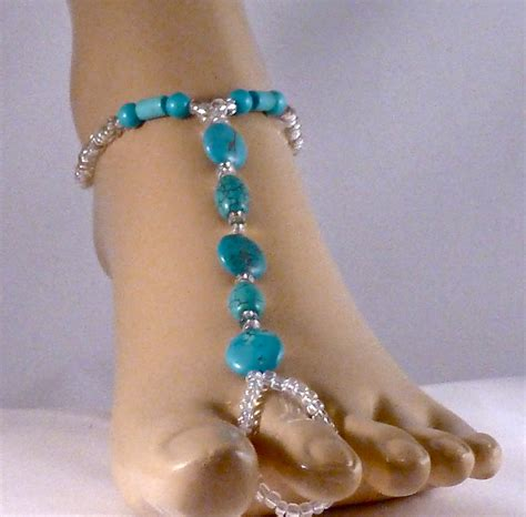 how to make beaded foot jewelry beaded foot jewelry jewelry by hairigoe designs