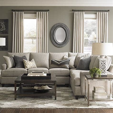 decorating living room with sectional sofa sectional sofas living room furniture bassett furniture