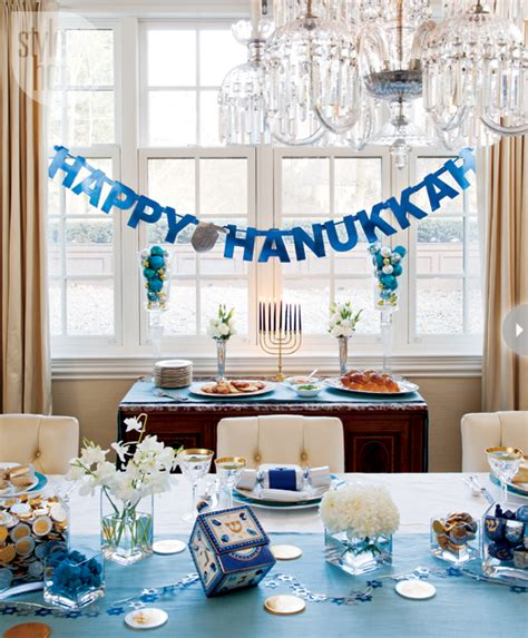 hannukah decor interior hanukkah home decor style at home