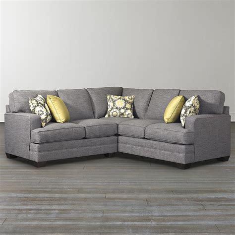 l shaped sectional sofas custom l shaped sectional bassett furniture