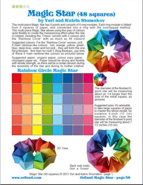 origami magic diagram oriland oriland magic